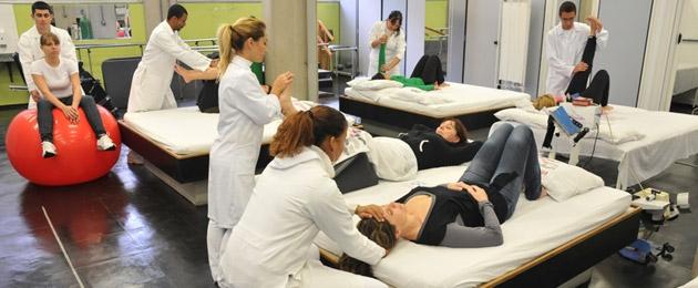 cursos fisioterapia salud formación