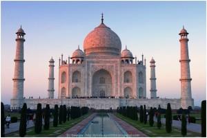 Fotos alucinantes del Taj Mahal en la India